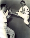 Front kick with DC or Annapolis student mid 60s