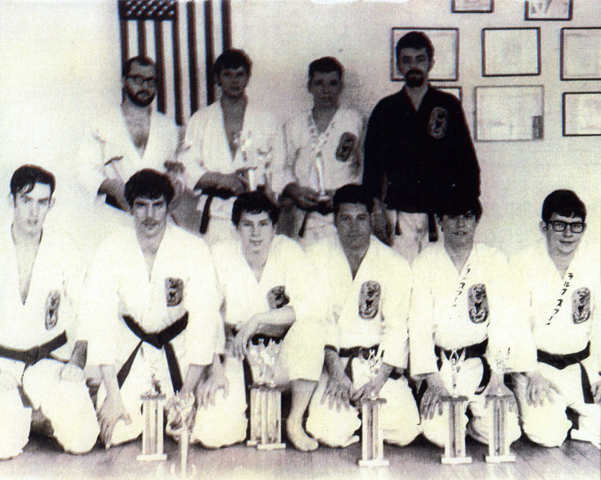 Early 70s tournament with students