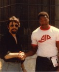 Heavyweight boxing champ Larry Holmes
